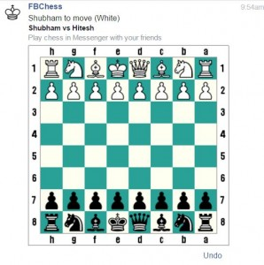 facebook chess messenger app game