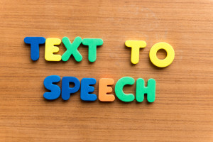 text-to-speech convertor